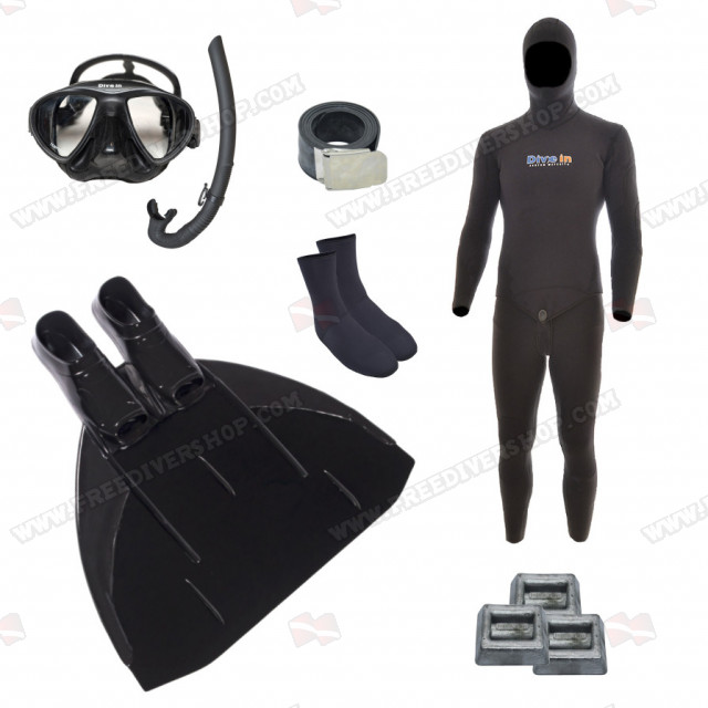 Freediving Monofin Power Bundle