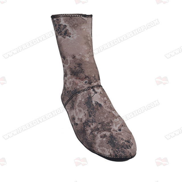 Divein Brown Camo Dive Socks