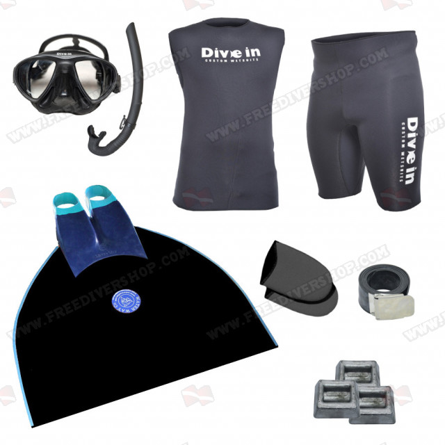 Freediving Monofin Essentials Kit