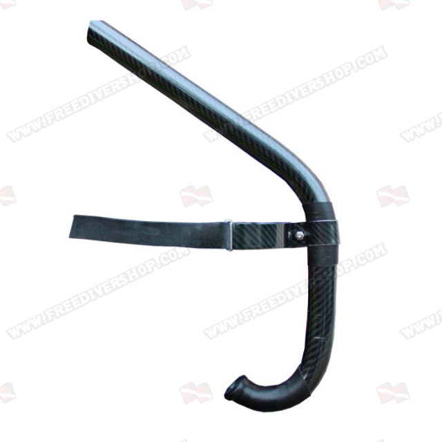 Frontal Swimming Snorkel - Carbon