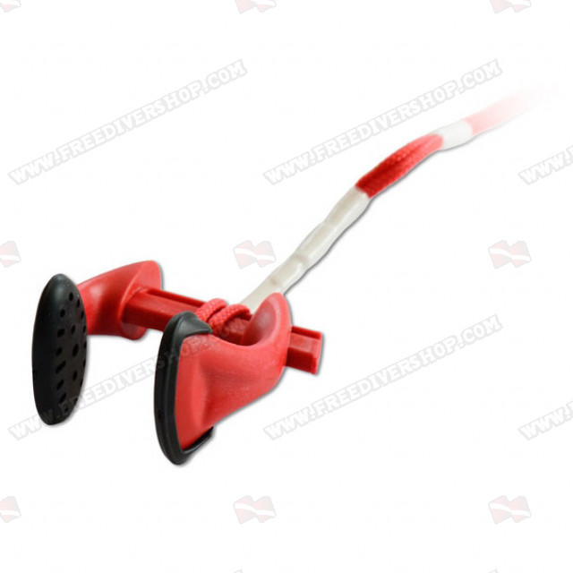 Freediving Nose Clip Pro - Red