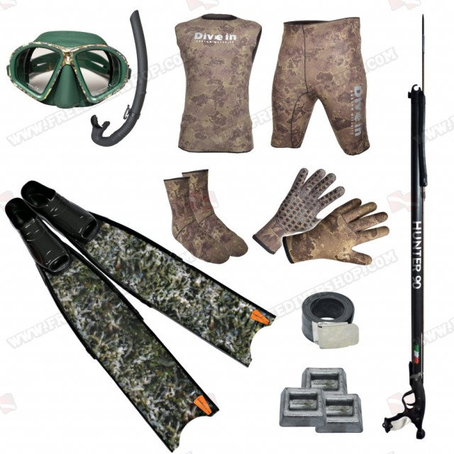 Spearfishing Camo Combo