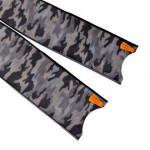 Leaderfins Grey Camouflage Fin Blades