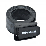 Divein Rubber Weight Belt - Plastic Buckle