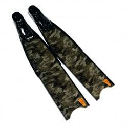 Leaderfins Green Camo Fins