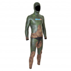 Divein Combo Green Camouflage Wetsuit