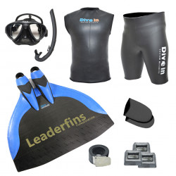 Freediving Monofin Pro Carbon Kit