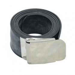 Rubber Weight Belt - Metal Buckle