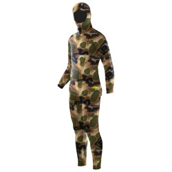 Elios Classic Brown Hydro Camouflage Wetsuit