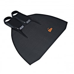 Leaderfins Freediving Carbon Sport Monofin + Socks