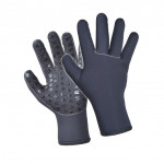 Divein Black Neoprene Gloves