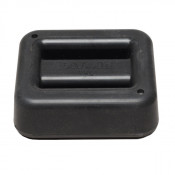 1 kg / 2.2 lbs Black Rubber Coated Belt Weight