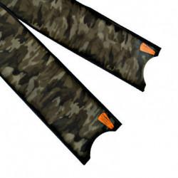 Leaderfins Green Camouflage Fin Blades