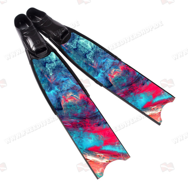 Leaderfins Wave Pure Carbon Fins + Fins Box