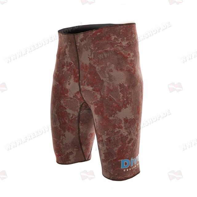 Divein Brown Camo Neoprene Bermuda Shorts