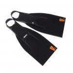 Leaderfins Saver Black Fins + Socks / 5 Pairs Lot