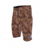 Divein Brown Camo Bermuda Shorts