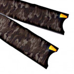 Leaderfins Carbon Fiber Camouflage Flossen Blätter