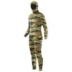 Elios Shaca / Marrone Camouflage Tauchanzug