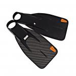 Leaderfins UW Games 220 Carbon Fins + Socks / 5 Pairs Lot
