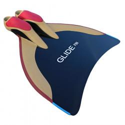 WaterWay Freediving Glide Monofin - Black Blade