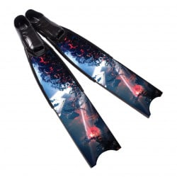 Leaderfins Wave Pure Carbon Fins + Fins Box