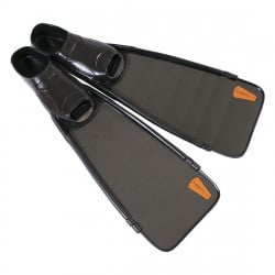Leaderfins Short Carbon Fins + Fins Box