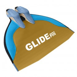WaterWay Finwsimming Glide Monofin - Yellow Blade