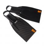 Leaderfins Saver 200 Carbon Fins + Socks / 5 Pairs Lot