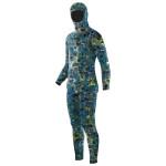 Elios Blue Reef Camouflage - Maßgeschneiderter Tauchanzug