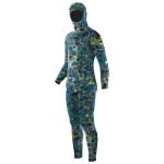 Elios Blau Reef Camouflage Tauchanzug