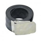 Divein Rubber Weight Belt - Metal Buckle
