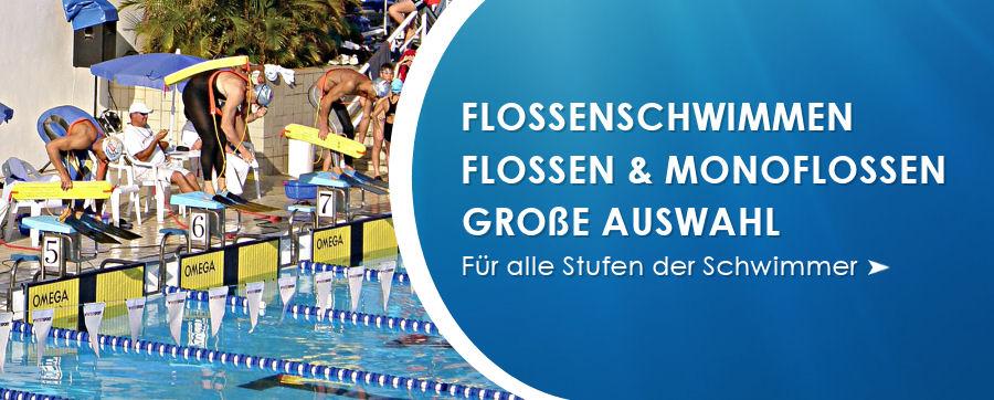 Flossenschwimmen Flossen und Monoflossen von weltweit führenden Herstellern.