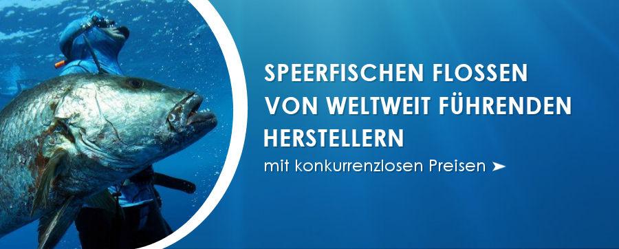 Speerfischen Flossen von weltweit führenden Herstellern.