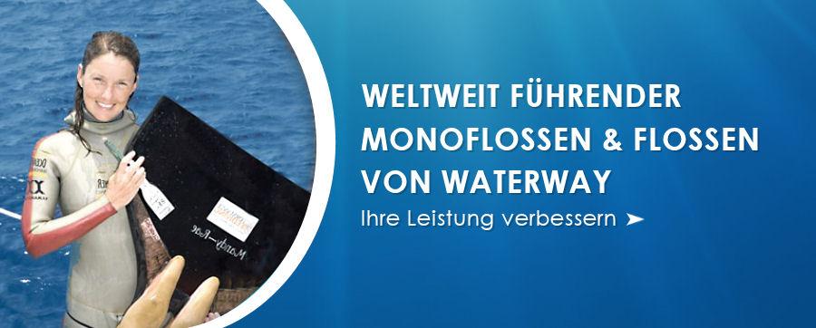 Weltweit führender Monoflossen & Flossen von WaterWay