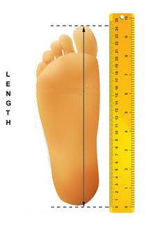 Foot Length Measuring Guide