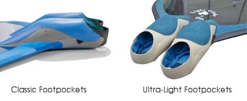 Glide Classic & Ultra-Light Footpockets