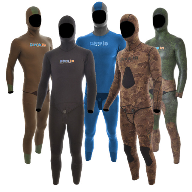 Divein Freediving Wetsuits