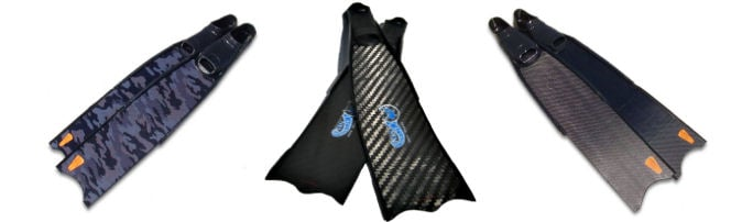 Freediving Carbon Fins